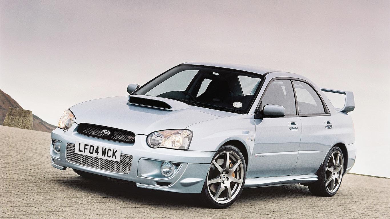 2004 Subaru Impreza WR1