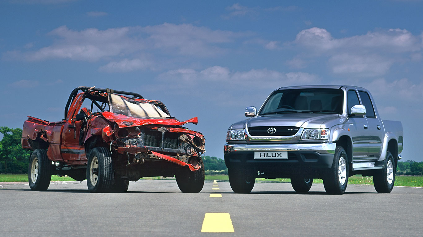 50 Years Of The Truck Jeremy Clarkson Couldnt Kill Motoring Research 2004 Toyota Lifted Hilux History