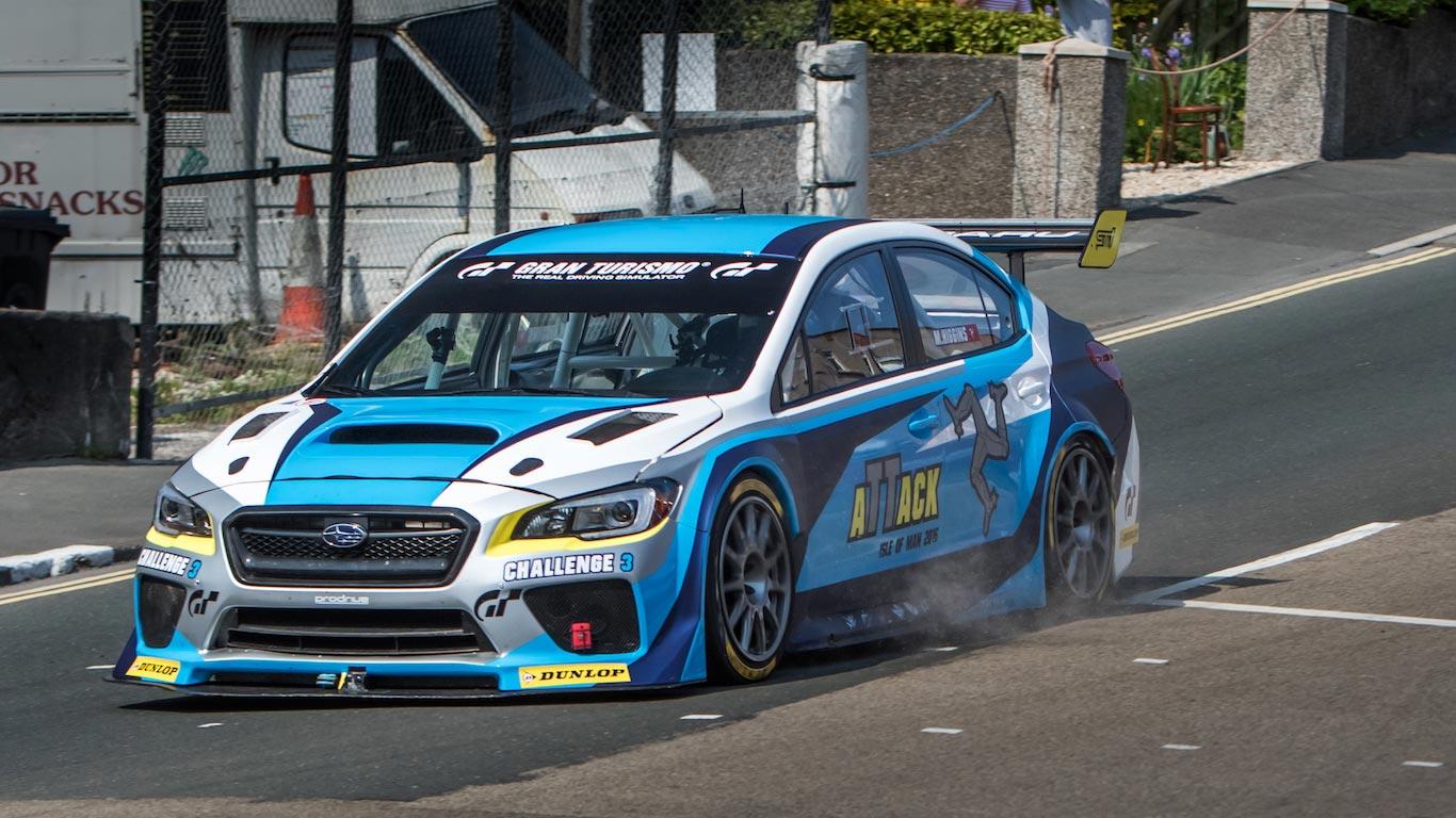 2016 Subaru WRX STI Time Attack