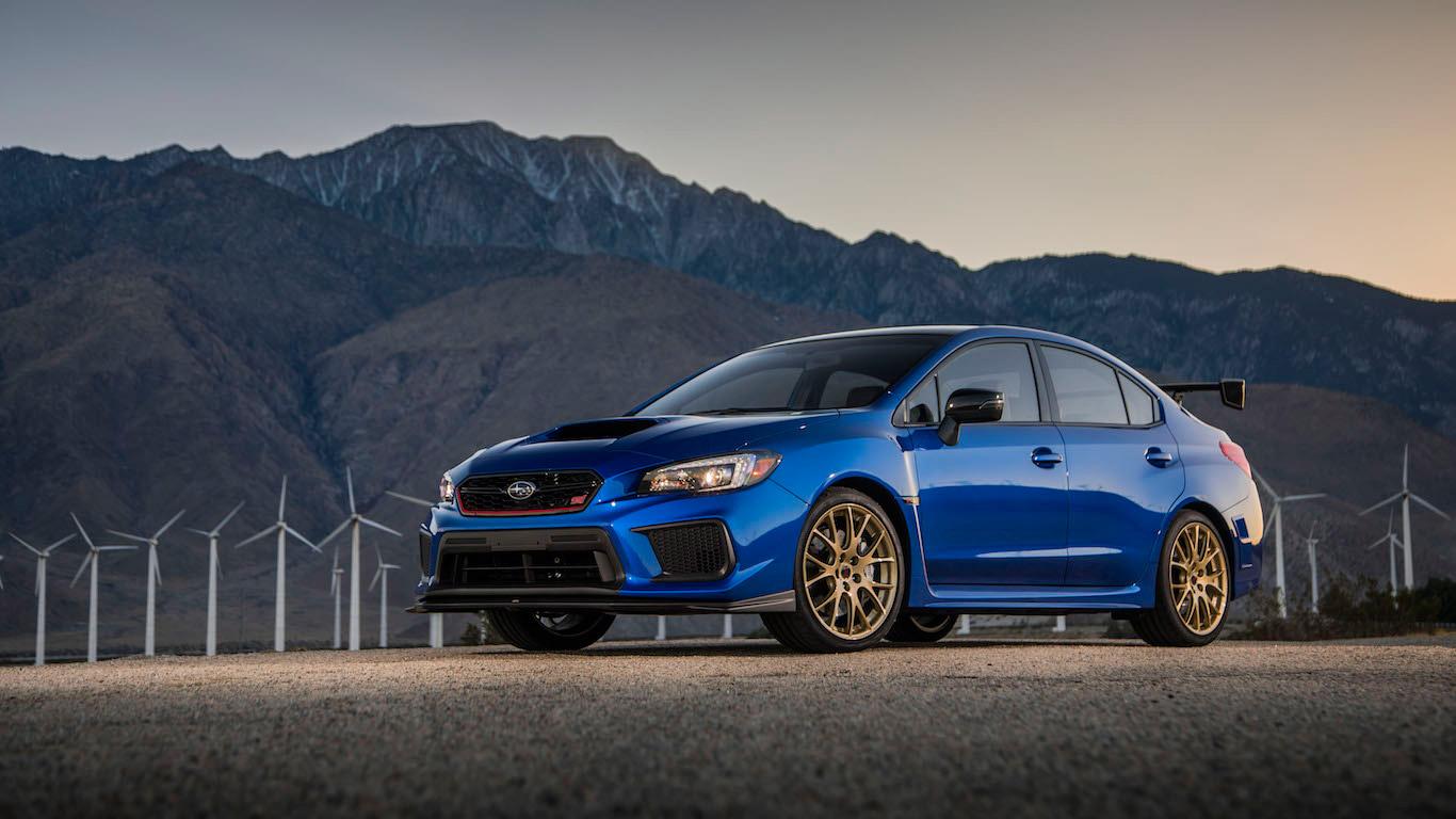 2018 Subaru WRX STI RA