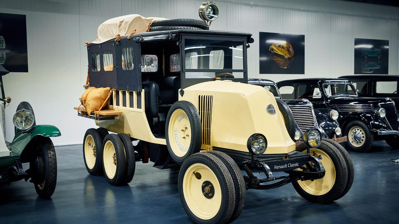 Renault six-wheel type MH