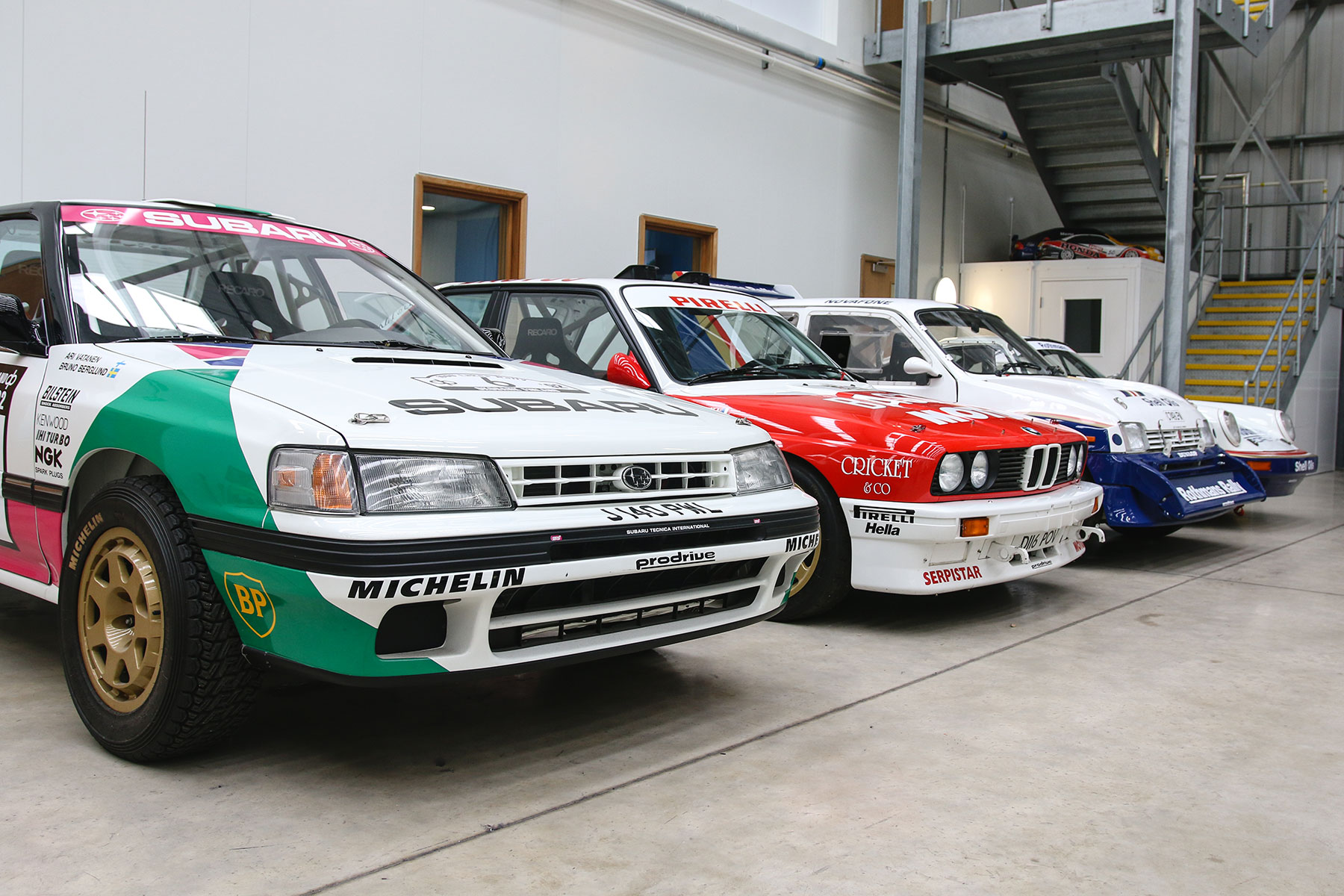 Video: Prodrive\'s amazing race and rally car collection