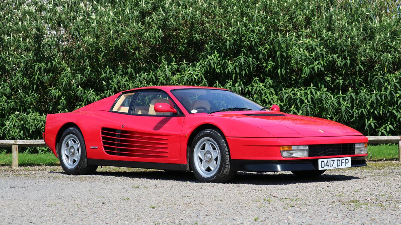 Ferrari Testarossa: £100,000 - £120,000