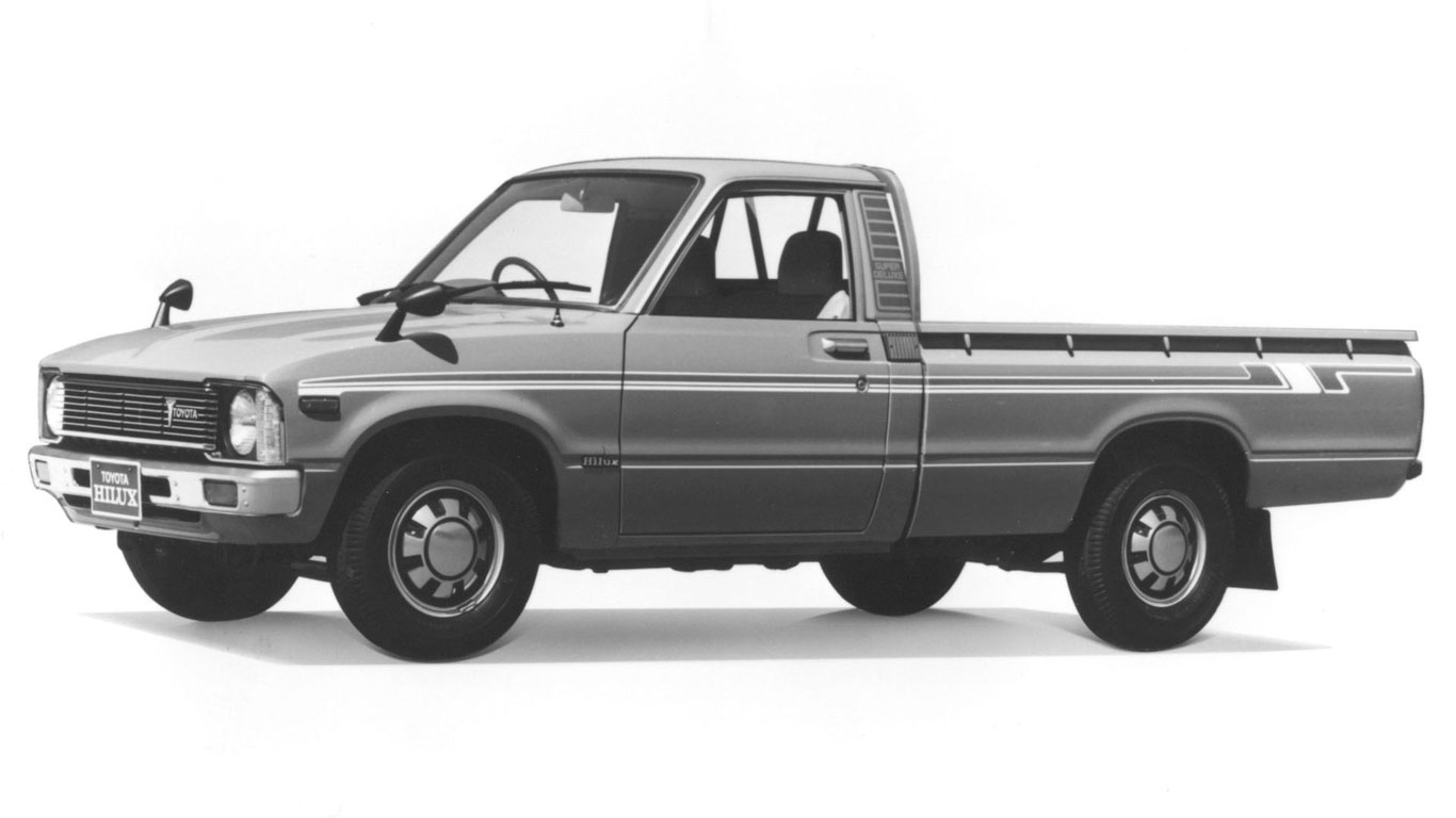 Toyota Hilux History