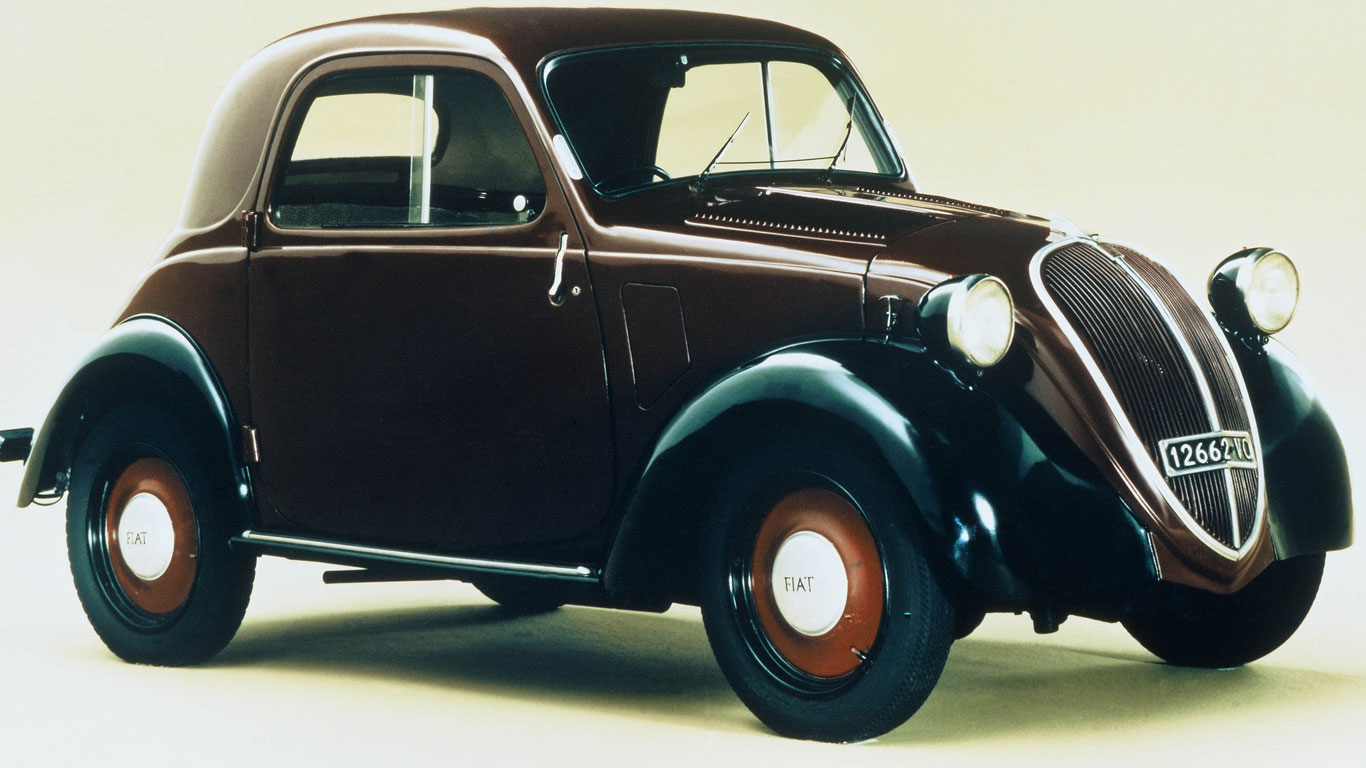 Is This The Cutest Name In History Of Motor Car Fiat Topolino Aka Little Mouse