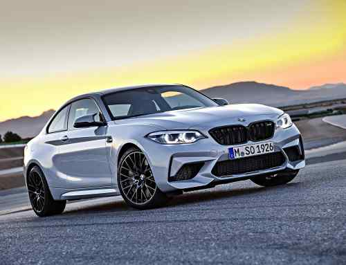 New BMW M2 Competition in action