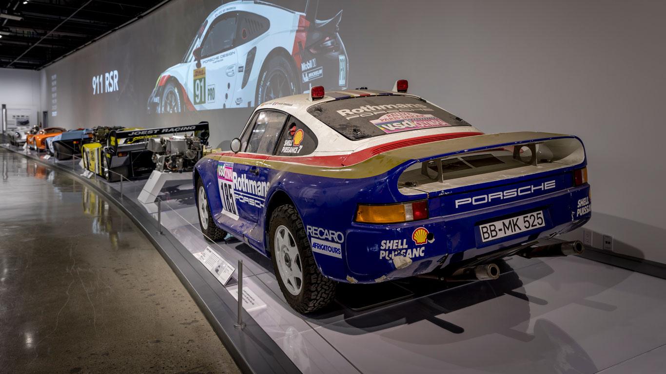 Porsche Passion: an incredible sports car collection