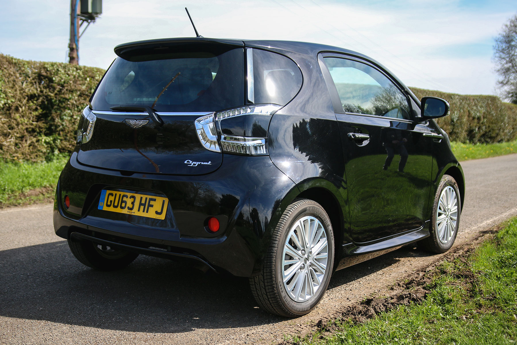 Aston Martin Cygnet Review Like A Toyota Mr2 Masquerading As A