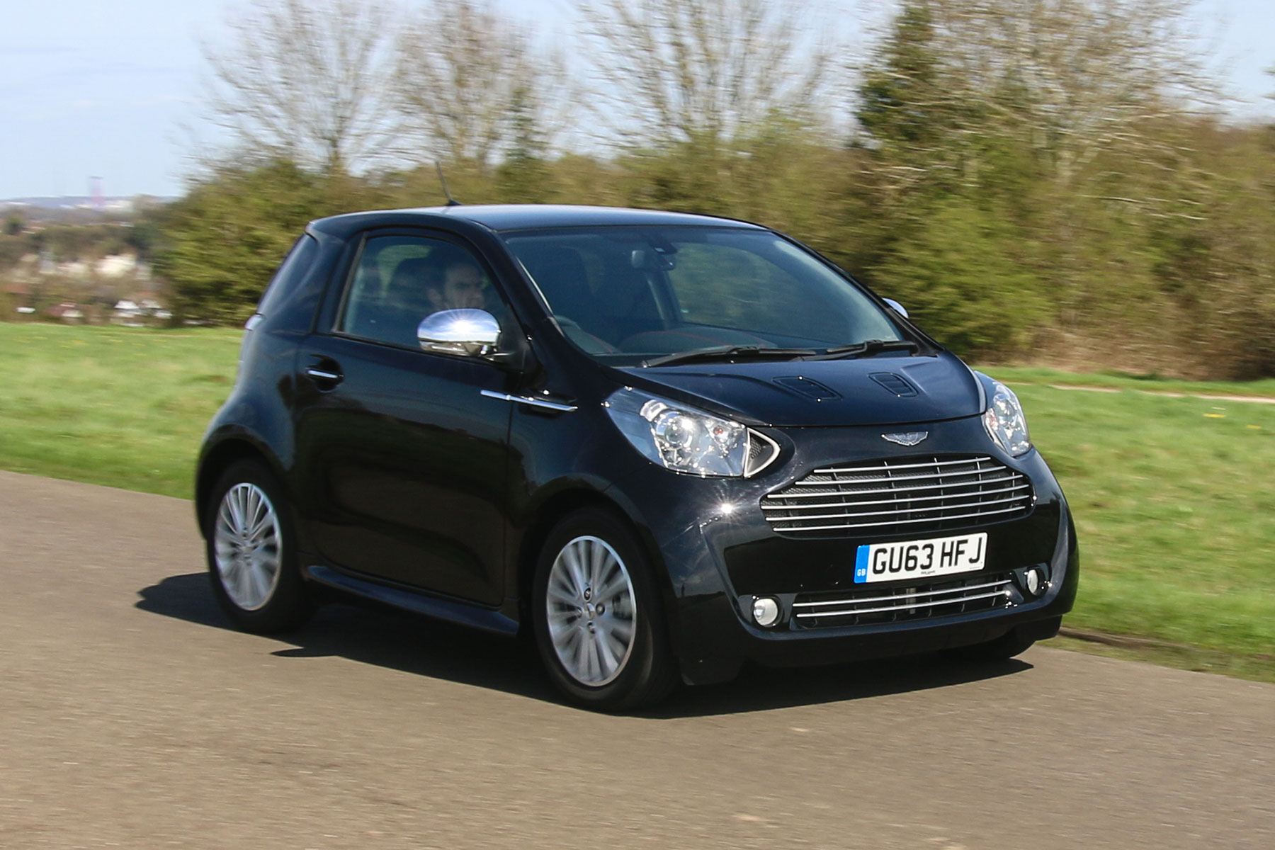 "Lease Deals Near Me >> Aston Martin Cygnet review: ""like a Toyota MR2 masquerading as a Ferrari"""