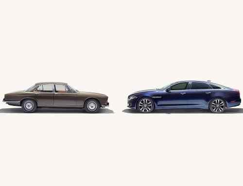 50 years of Jaguar XJ: walkthrough from 1968 to 2018