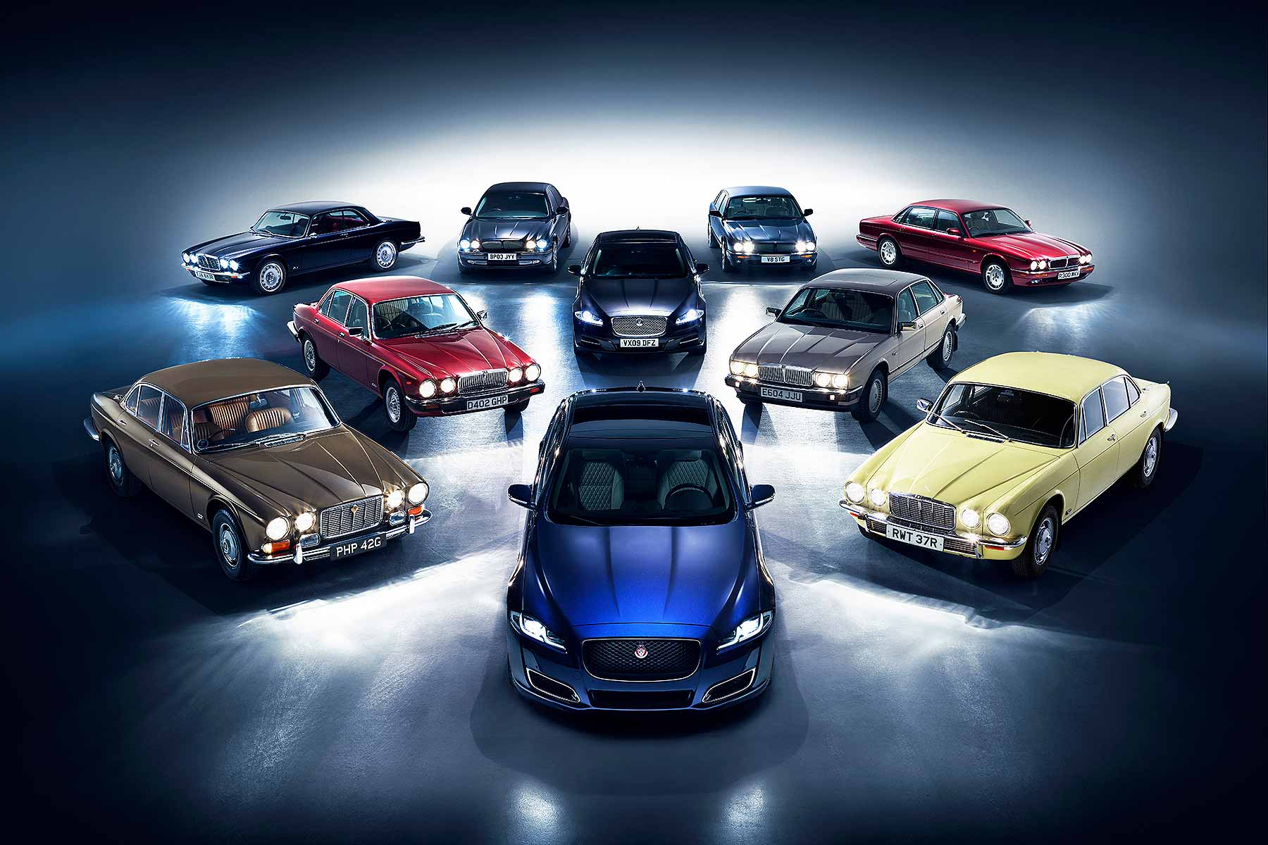 Jaguar XJ 1968 to 2018