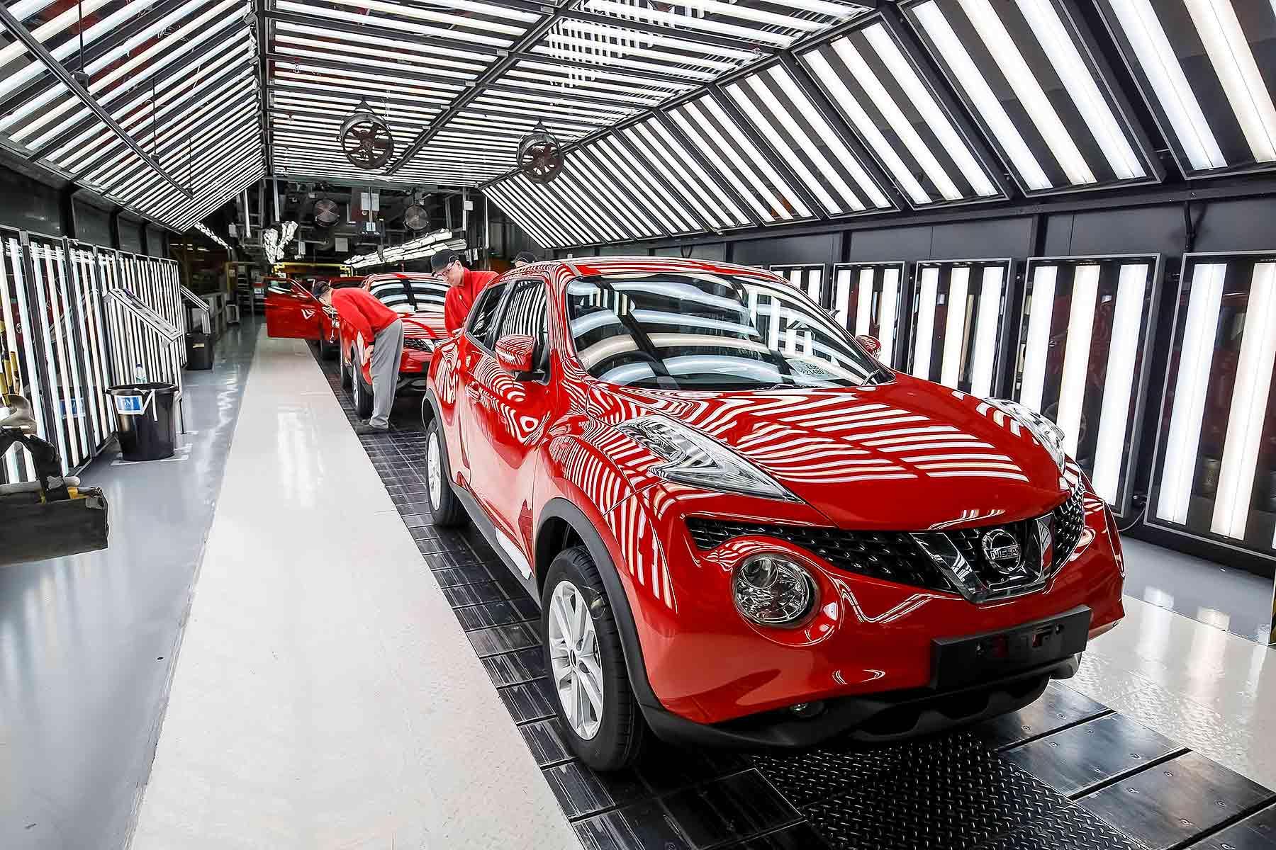 Nissan Juke production in Sunderland