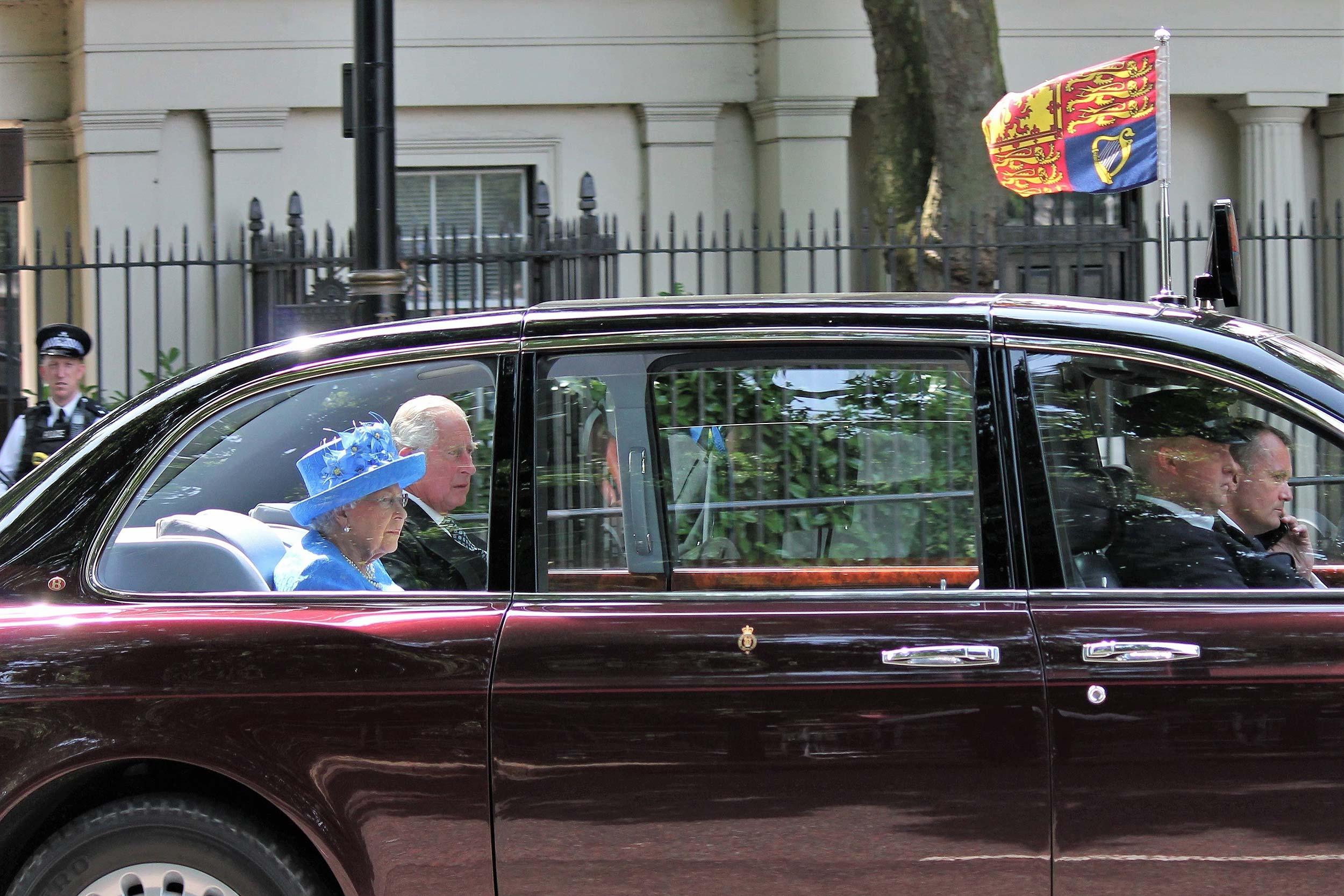 Royal rides and Royal riders