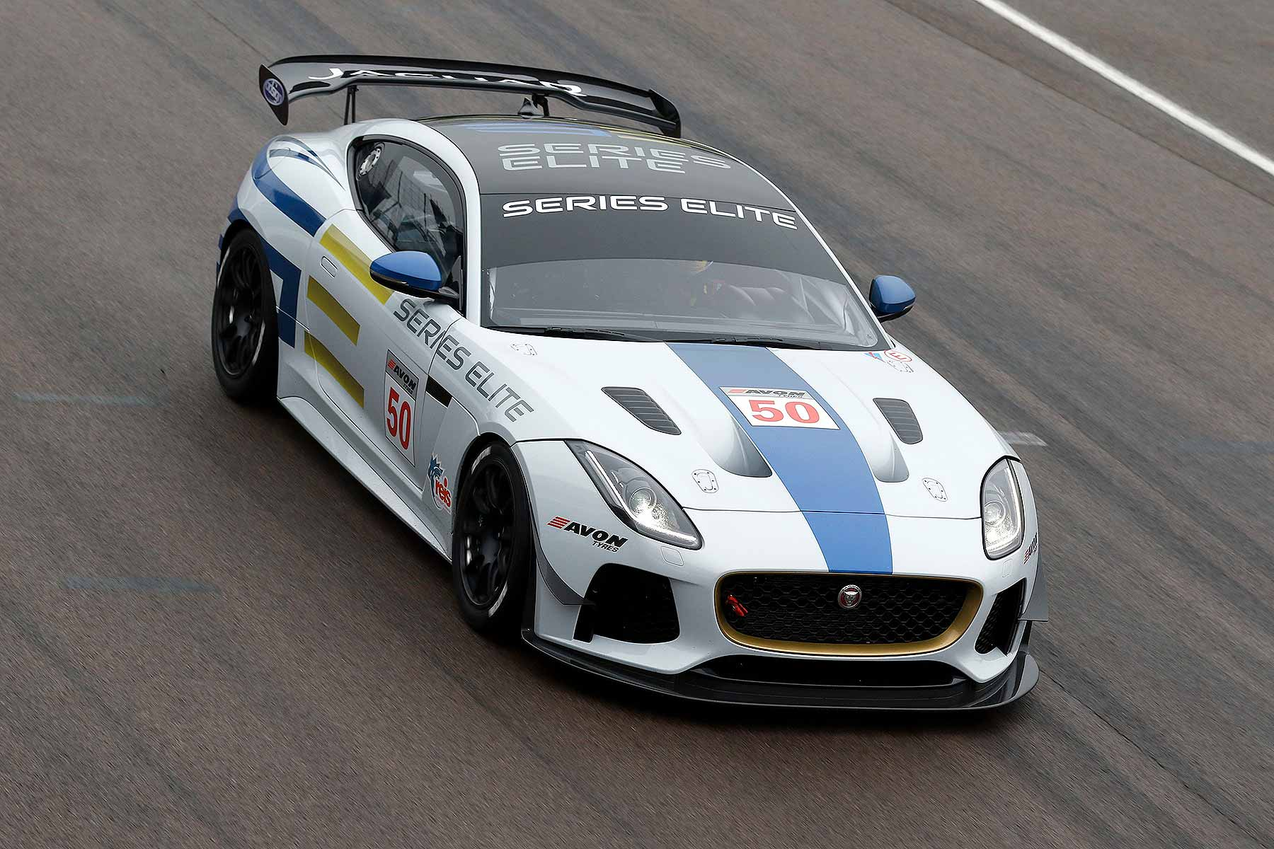Series Elite Jaguar F Type GT4