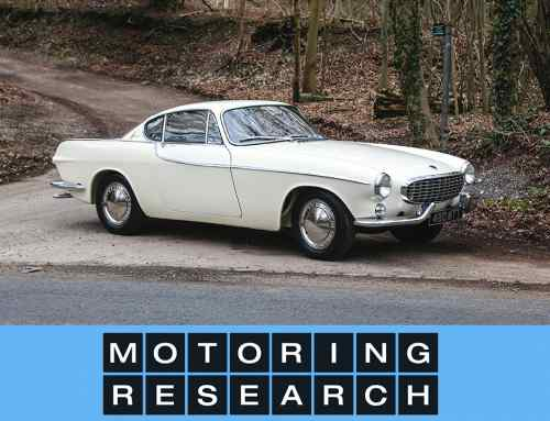 Volvo P1800 retro video drive