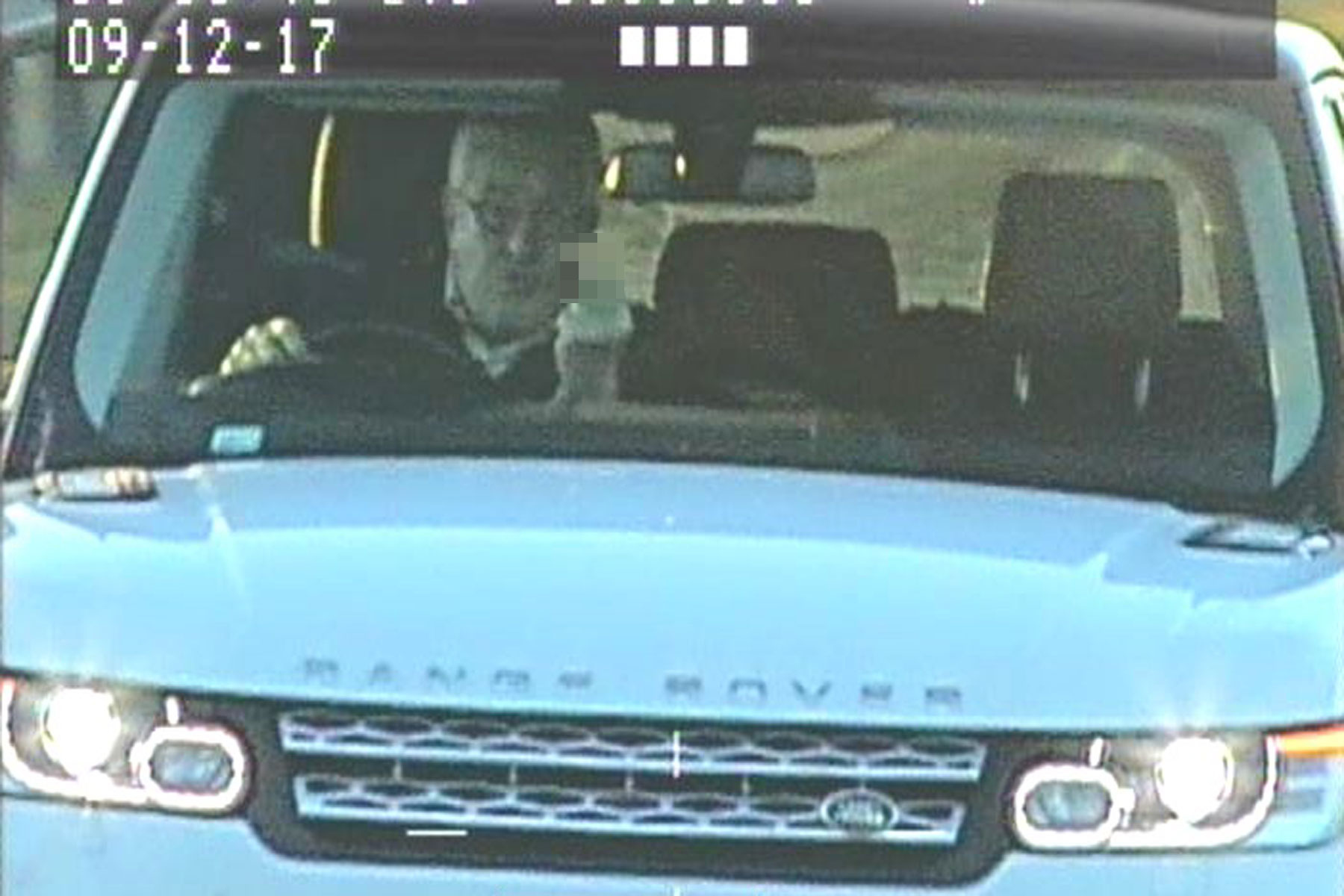 Range Rover driver jailed for giving police the finger