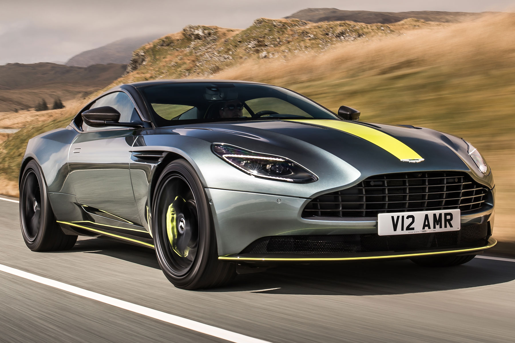 aston martin db11 amr review: 639hp supercar earns its stripes