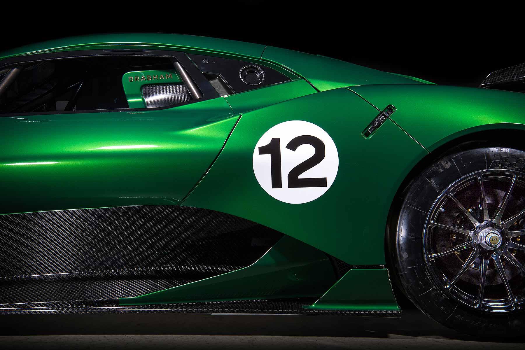 New Brabham BT62 supercar