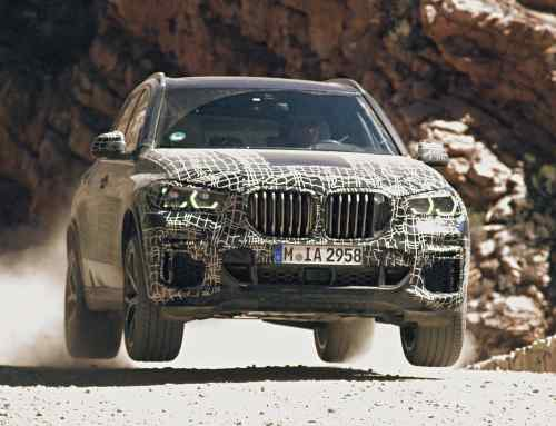New 2019 BMW X5 SUV teased during testing