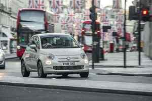 Fiat 500 in London