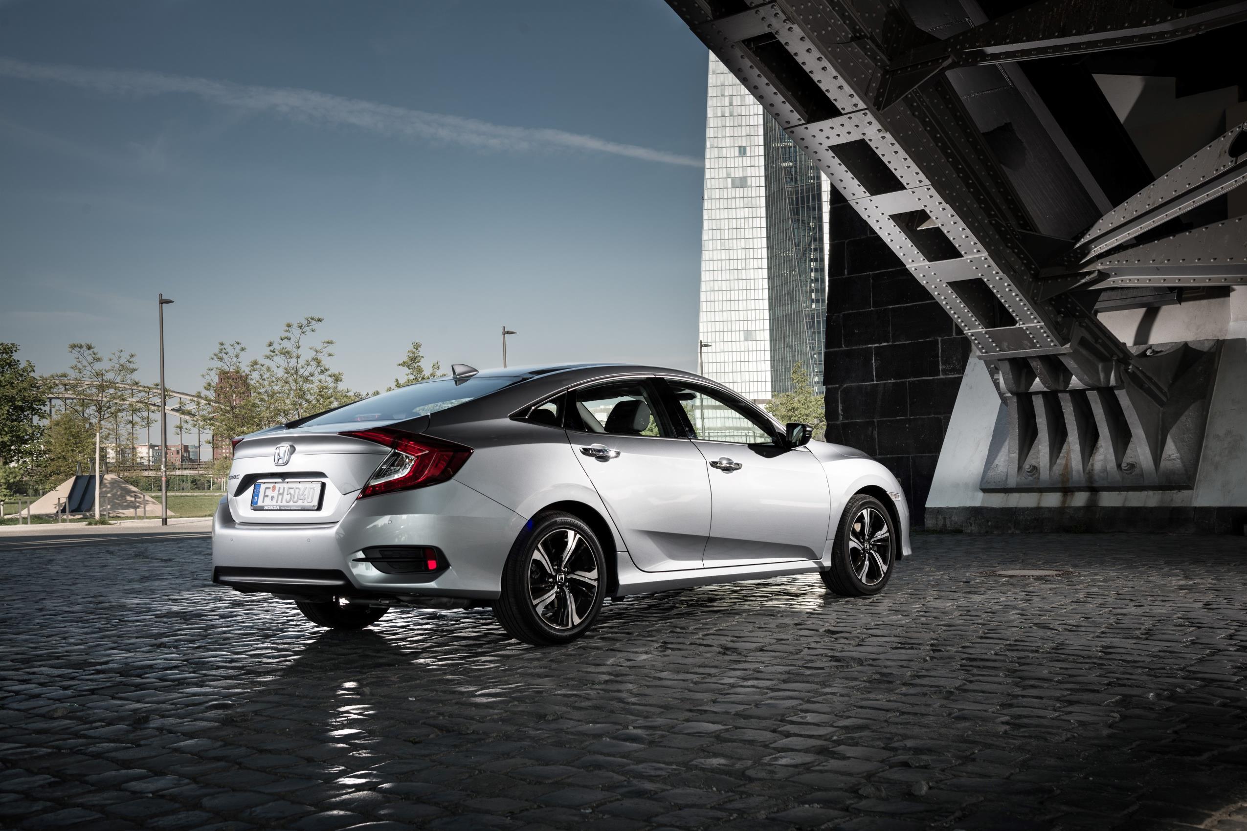 Honda Civic four-door 2018