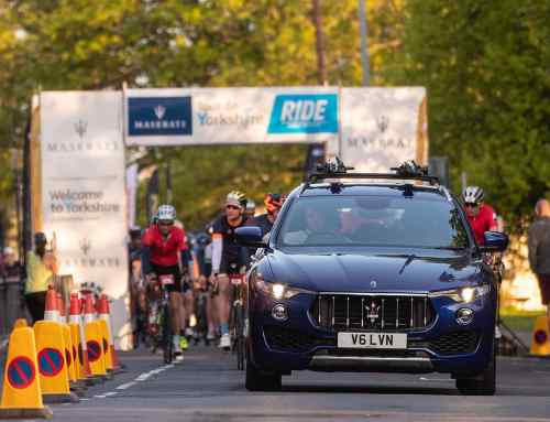 Why Maserati backs the Tour de Yorkshire