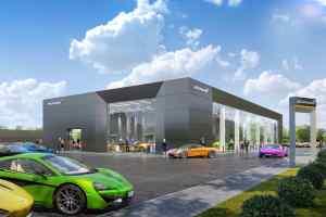 McLaren Automotive New Leeds Dealership