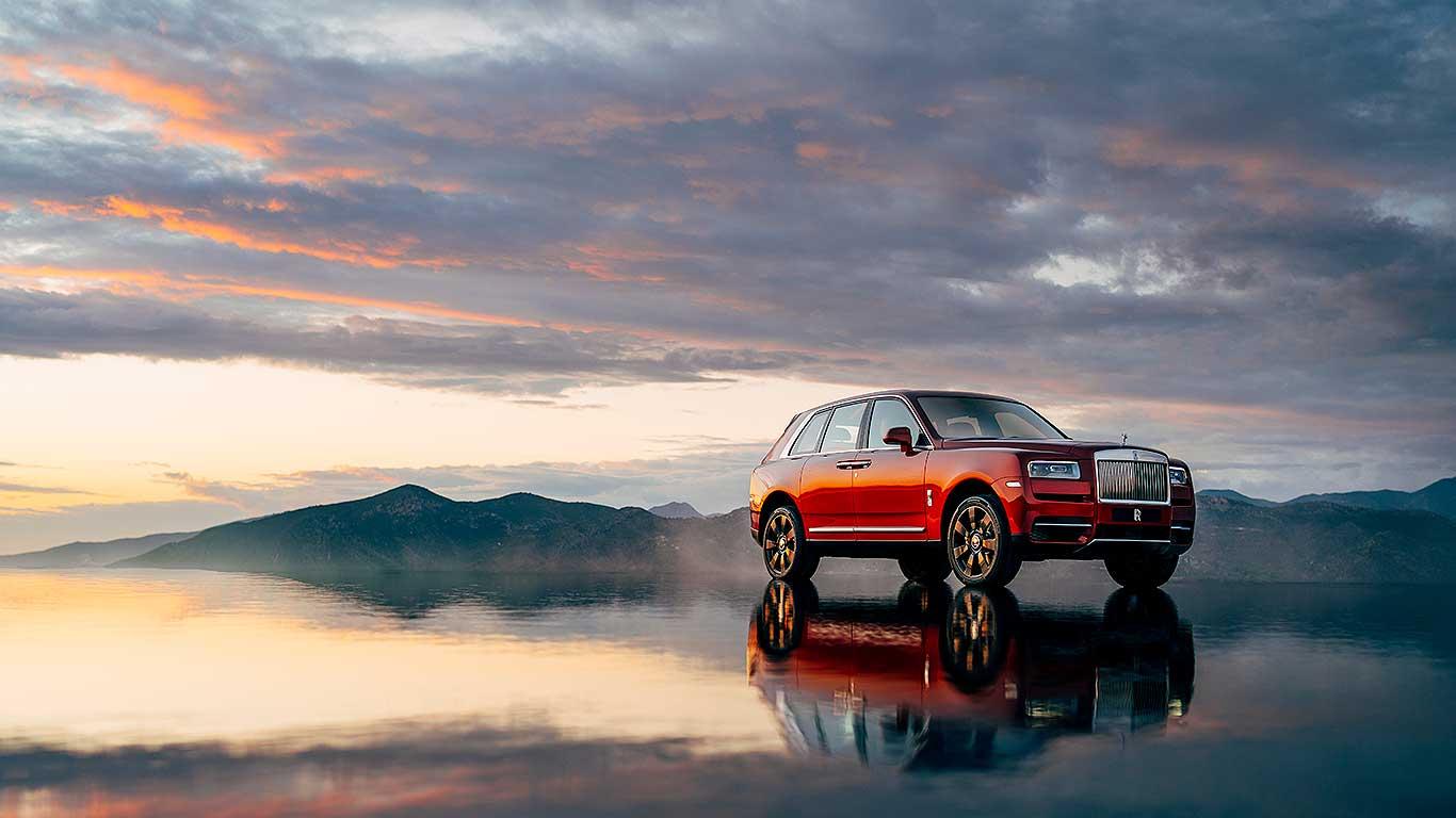 Rolls-Royce Cullinan revealed