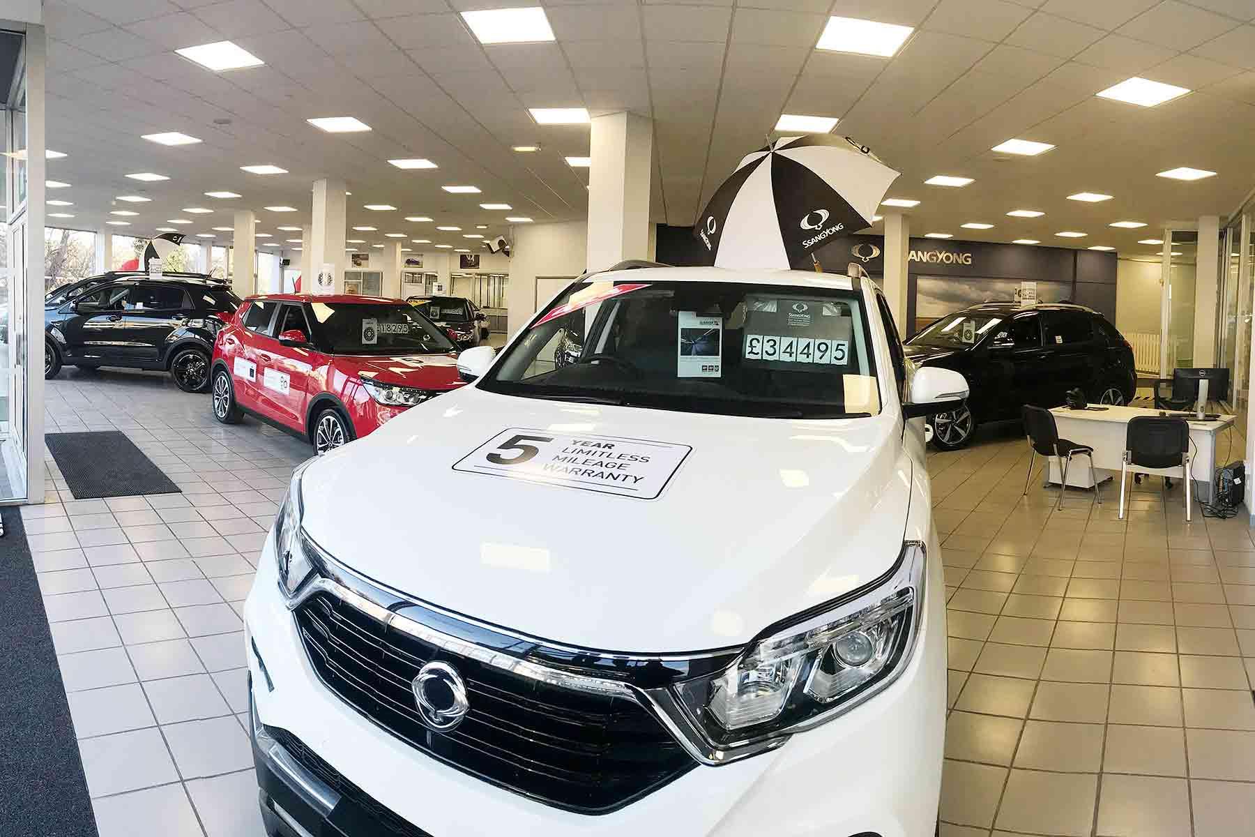 New car registrations improve in April 2018
