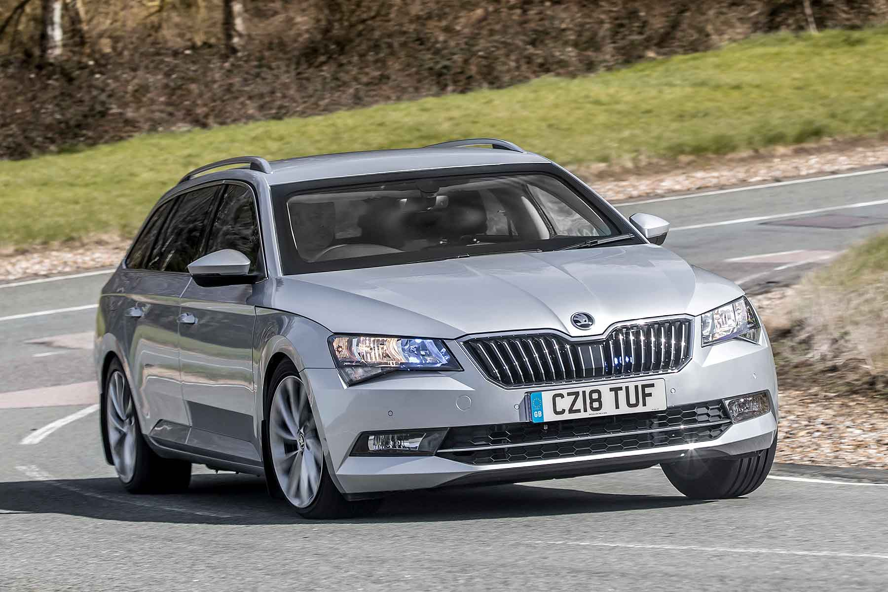 Armoured Skoda Superb