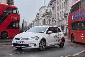 Zipcar Volkswagen e-Golf