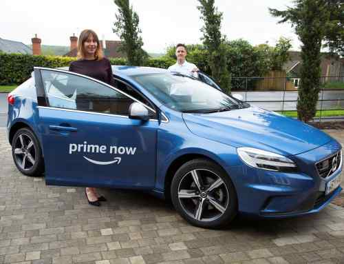 Now you can arrange to test drive a Volvo on Amazon