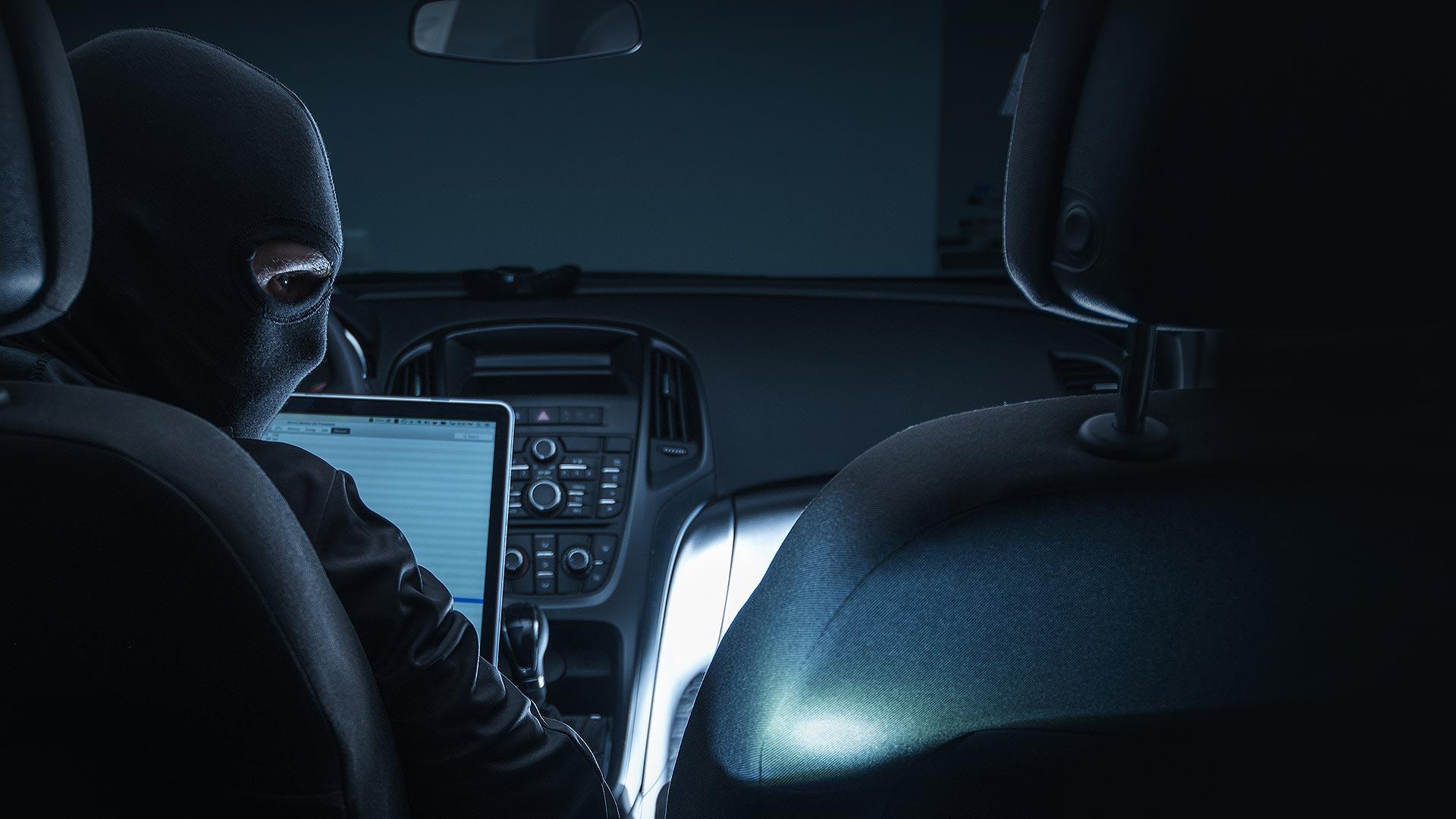 Keyless car theft