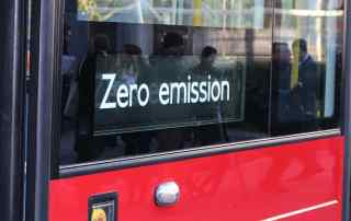 Zero emission London bus