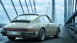 Saga Norén's Porsche 911