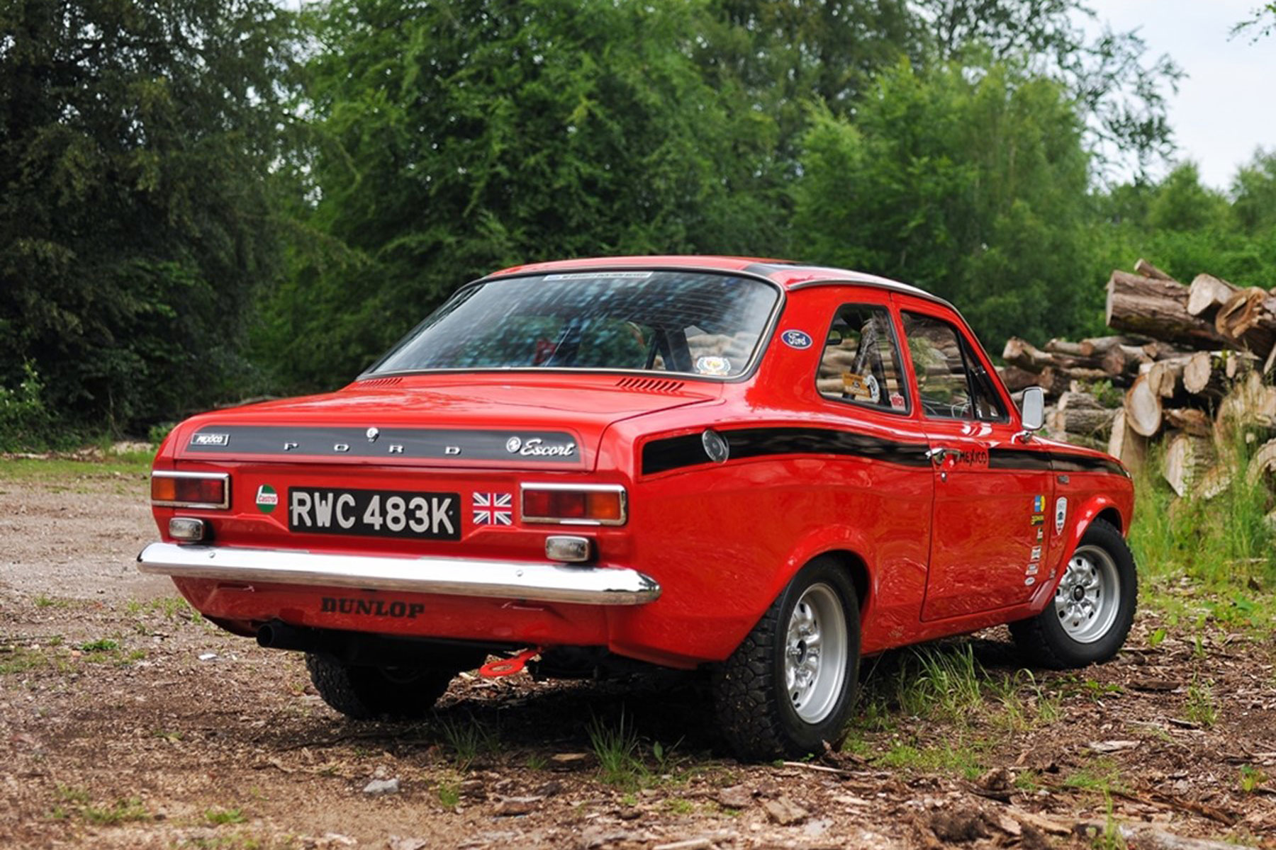 ford escort mexico could double its money at historics sale motoring research. Black Bedroom Furniture Sets. Home Design Ideas