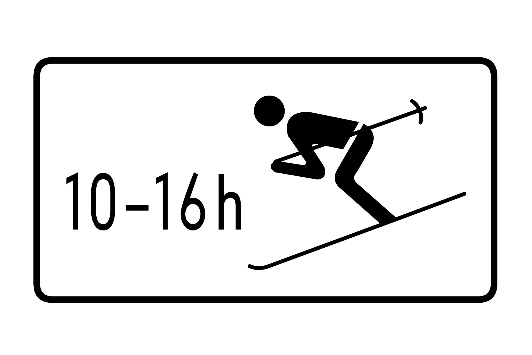 Skiers allowed to cross road Germany