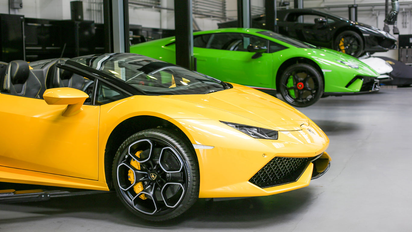 Rare Lamborghinis Gather At Supercar Sunday Motoring