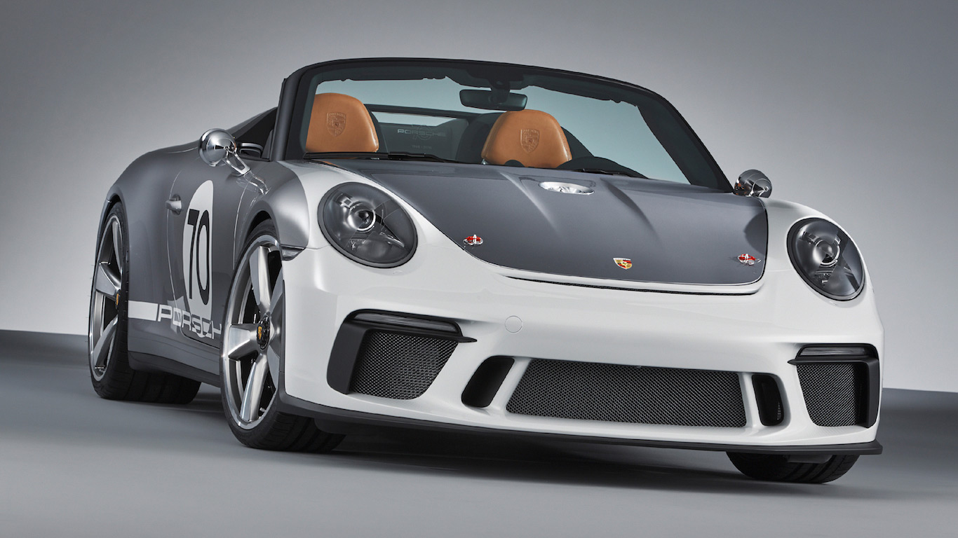 porsche celebrates 70th anniversary with 911 speedster concept motoring research. Black Bedroom Furniture Sets. Home Design Ideas