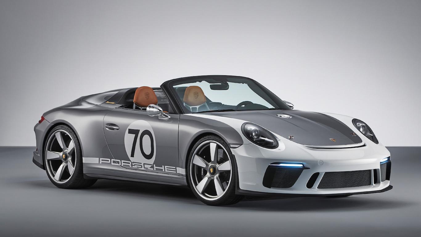 2018 Porsche 911 Speedster Concept
