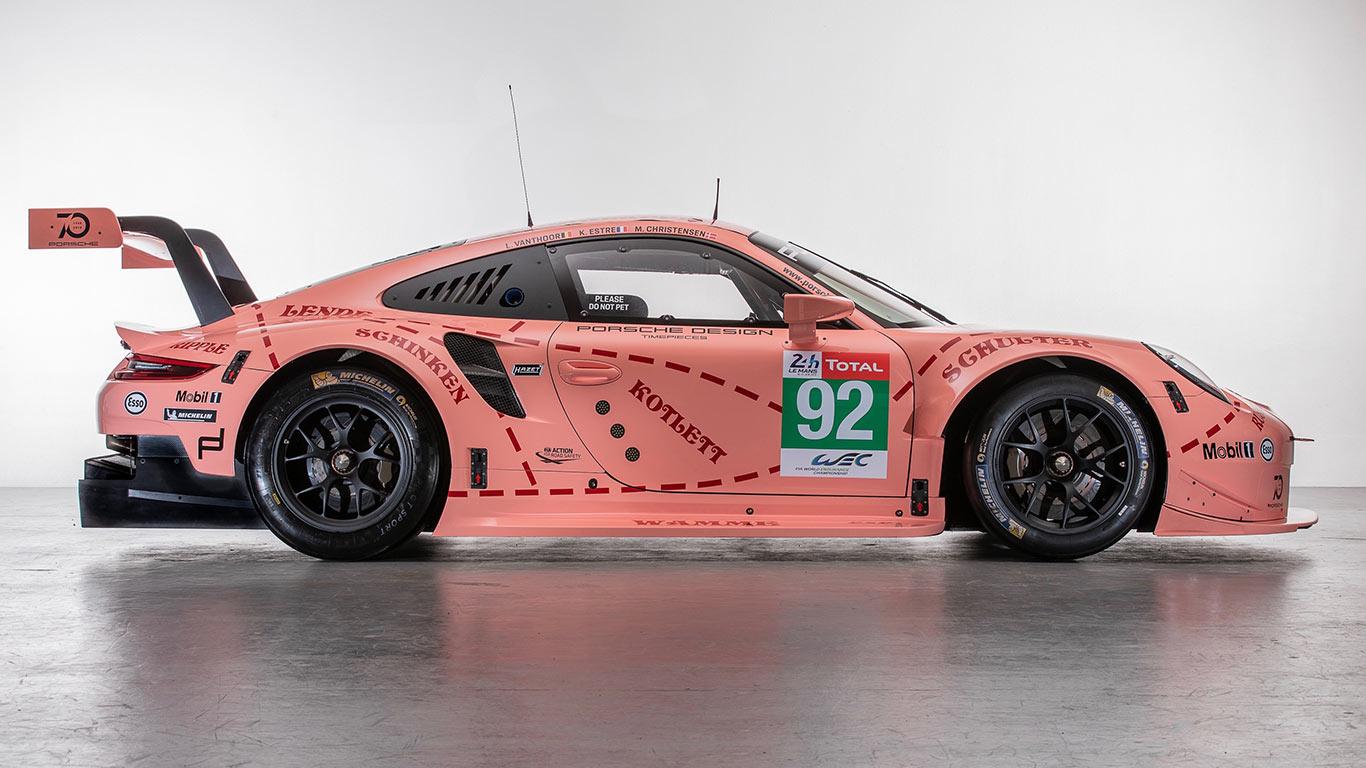 2018 Retro Porsche 911 RS Le Mans