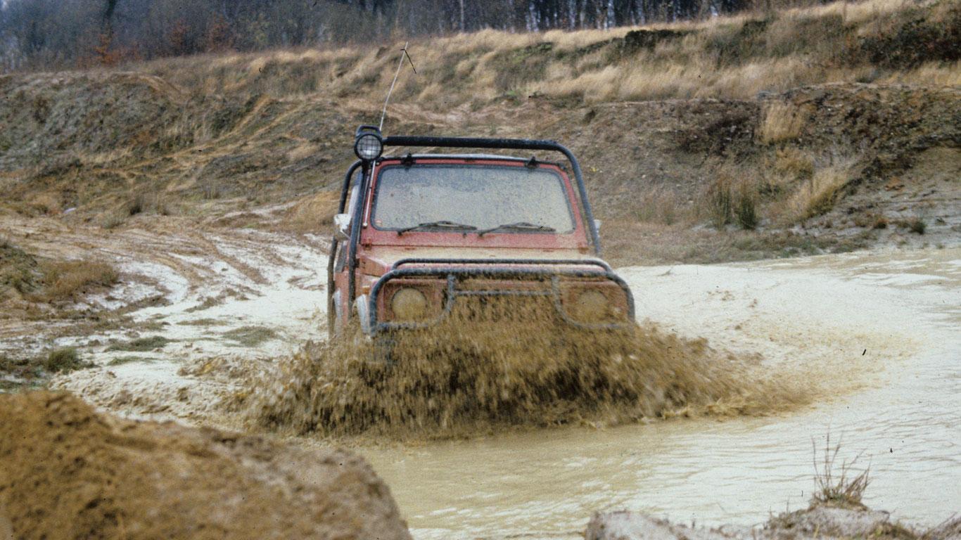 Miniature hero: a brief history of the Suzuki Jimny