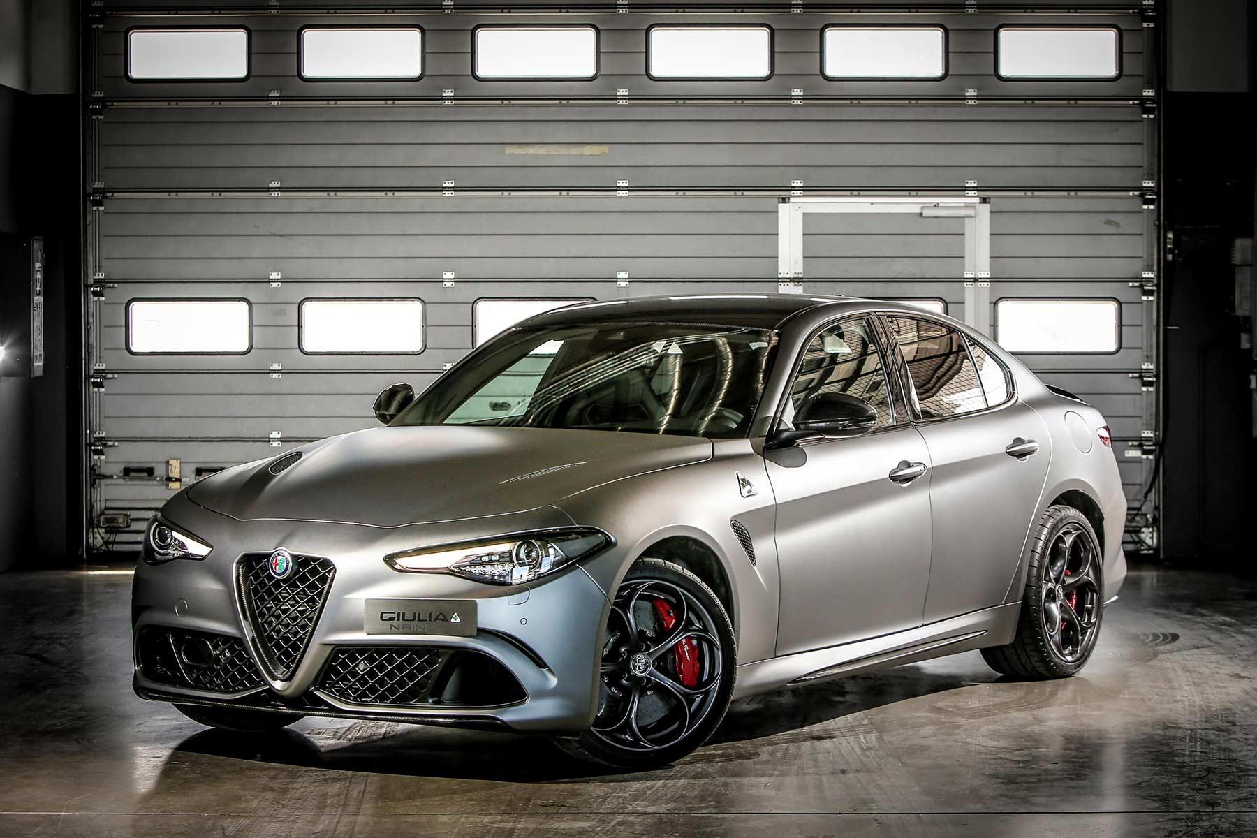 Alfa Romeo Giulia Quadrifoglio NRING Edition