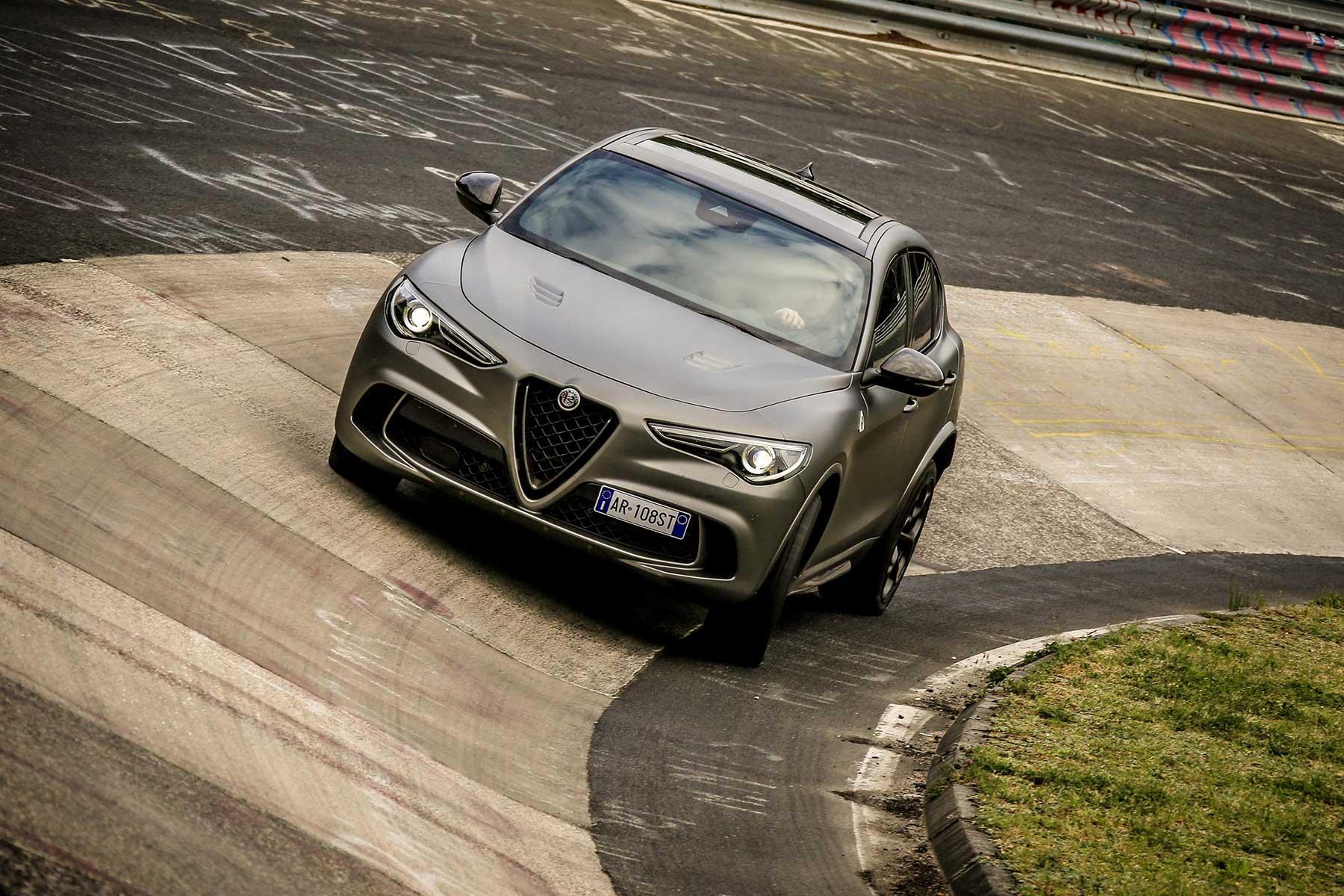 Alfa Romeo Stelvio Quadrifoglio Nring Motoring Research