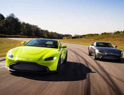 Aston Martin is moving into Silverstone