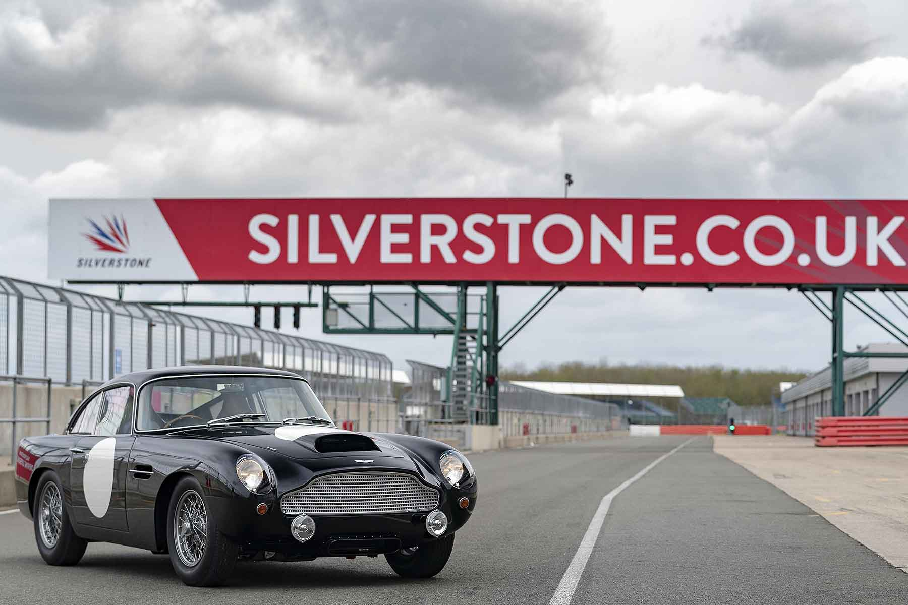 Aston Martin DB4 GT at Silverstone