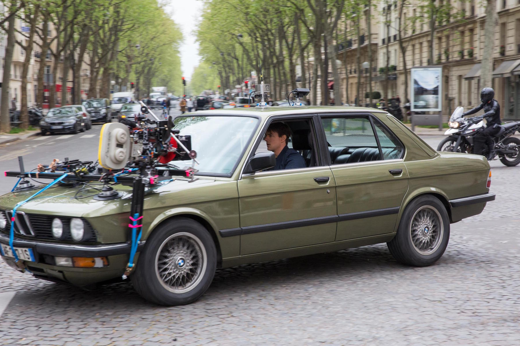 Bmw car used in mission impossible ghost protocol