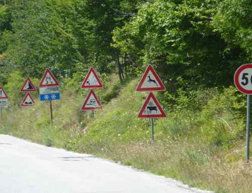 British motorists baffled by European road signs