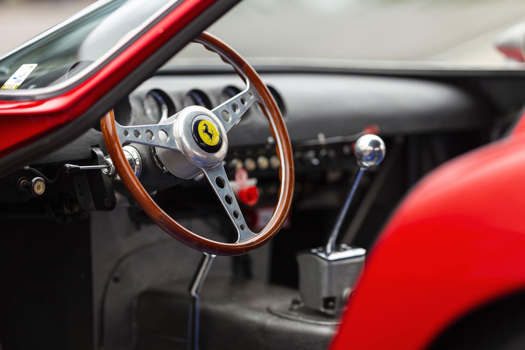 Ferrari 250 GTO interior
