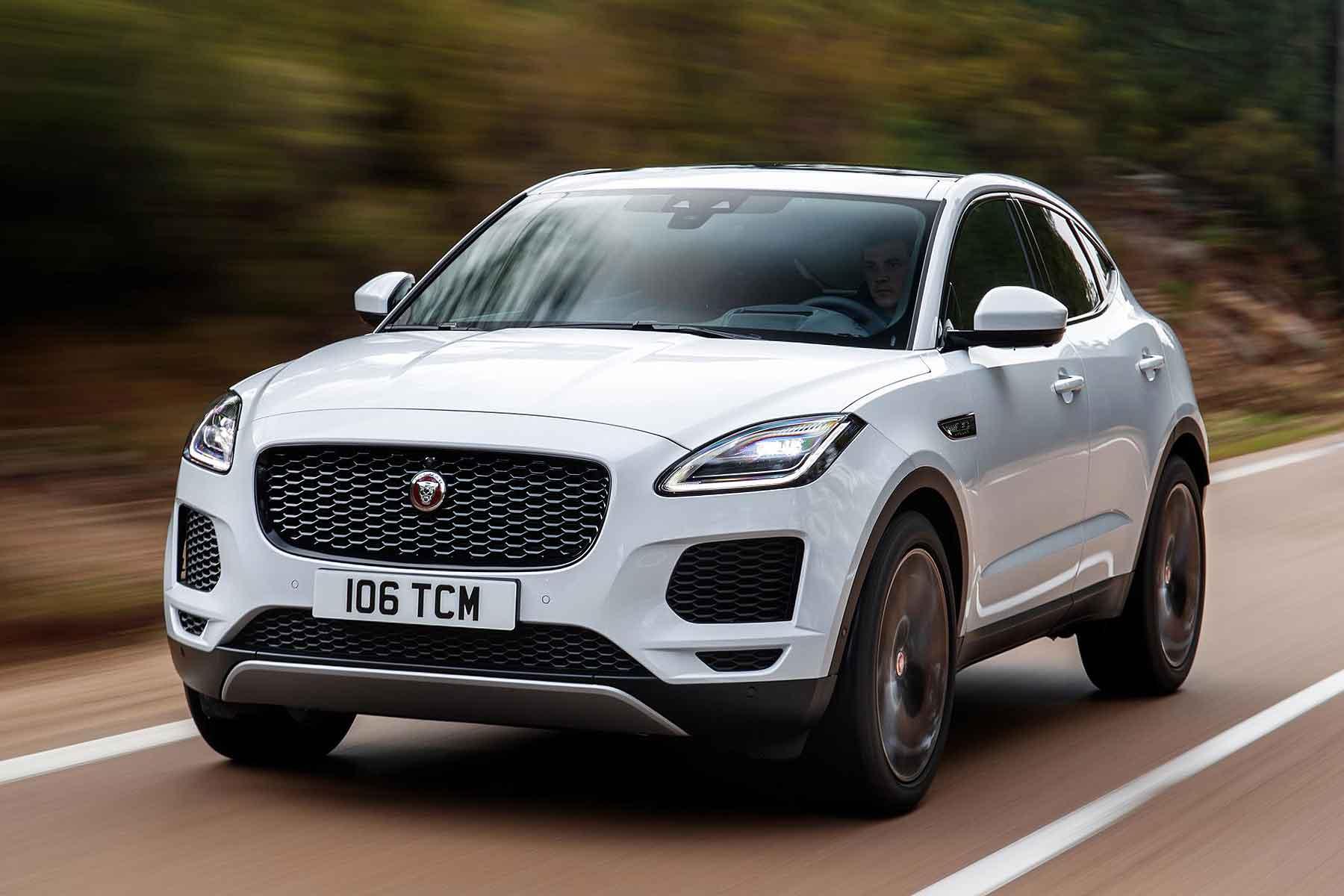Jaguar E-Pace 2018 tech update